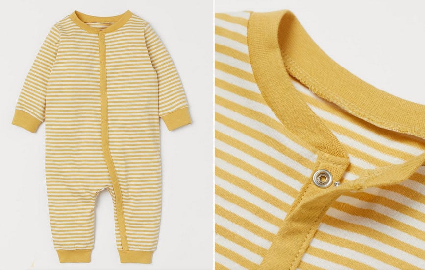 Baby patterned pajamas of HM – SALE