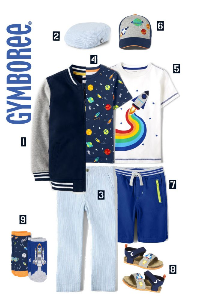 Space Outfit Gymboree for Boys