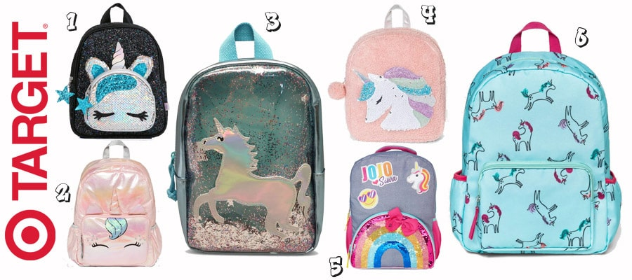 Unicorn Backpacks for Girls and Toddlers