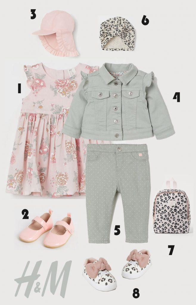 H&M Baby Girl Spring Outfit