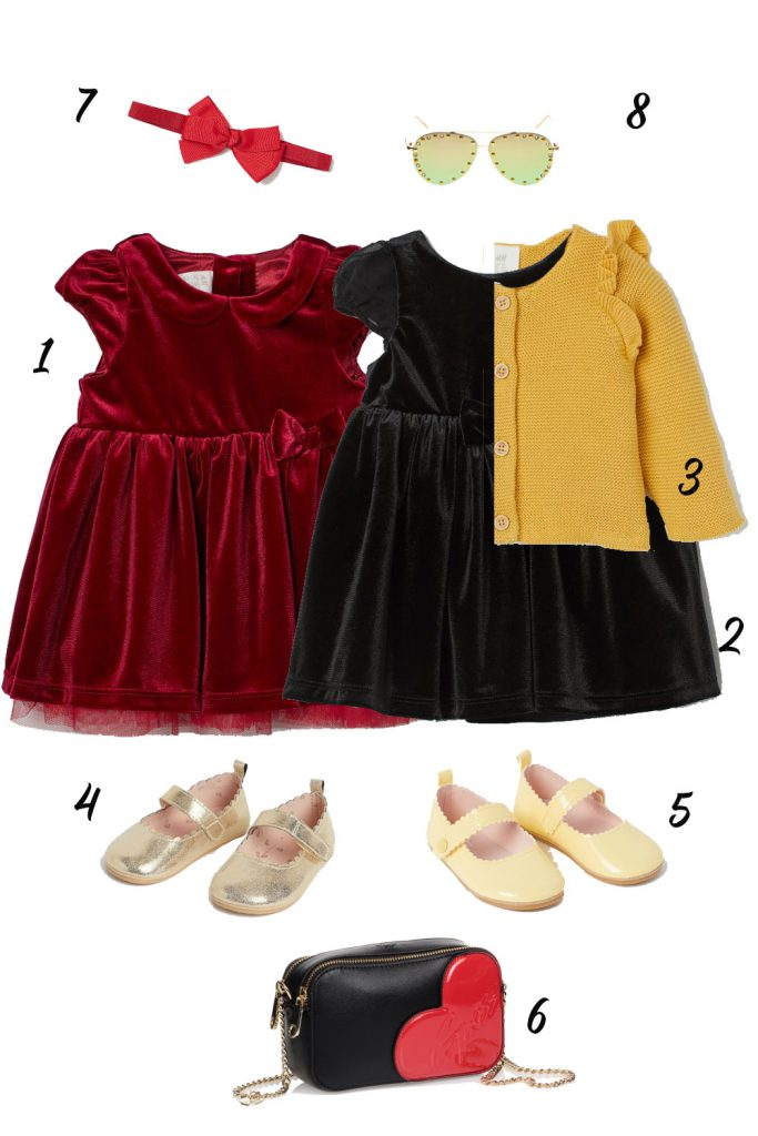 Fancy Outfit for Baby and Toddler Girls