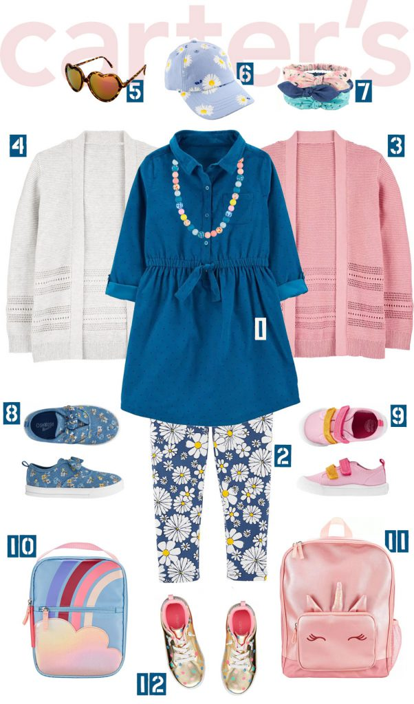 Blue Corduroy Dress Outfit – Carter's Kid
