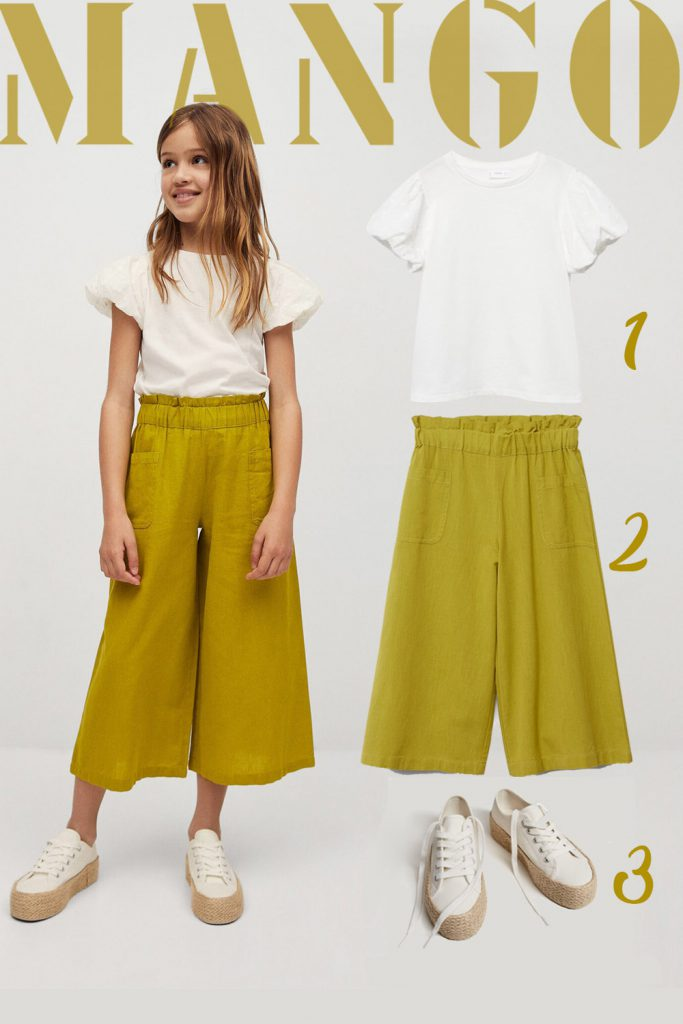 """""""Lime"""" Girl Outfit   Mango"""