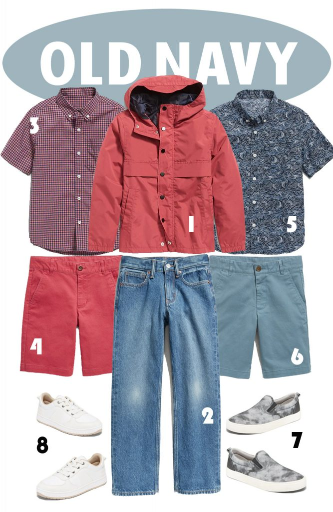 Old Navy Boy Outfit with Shirts